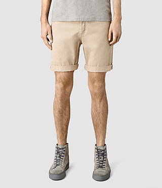 Mens Mitre Lumen Shorts (SAND BROWN) - product_image_alt_text_1
