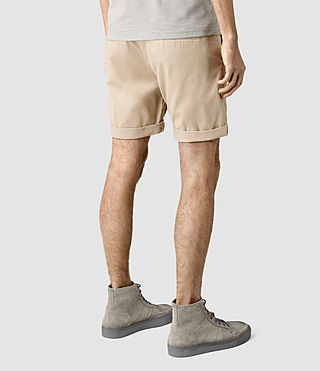 Mens Mitre Lumen Shorts (SAND BROWN) - product_image_alt_text_3