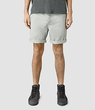 Mens Mitre Lumen Shorts (MIRAGE BLUE) - product_image_alt_text_1