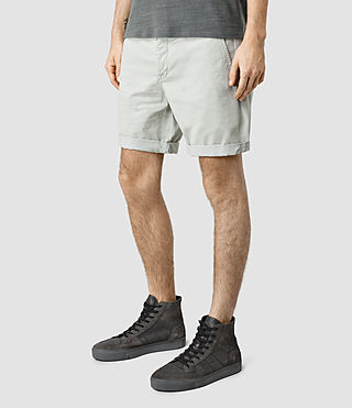 Mens Mitre Lumen Shorts (MIRAGE BLUE) - product_image_alt_text_2