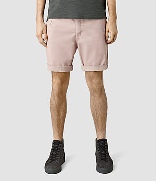 Mens Mitre Lumen Shorts (Sphinx Pink) - product_image_alt_text_1