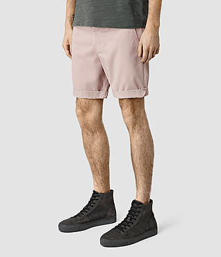 Mens Mitre Lumen Shorts (Sphinx Pink) - product_image_alt_text_2