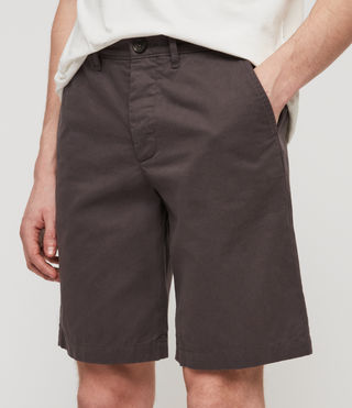 Mens Colbalt Chino Shorts (Slate Grey) - product_image_alt_text_4