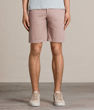 Hommes Short Colbalt Chino (Dusty Pink) -