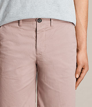 Hommes Short Colbalt Chino (Dusty Pink) - product_image_alt_text_2