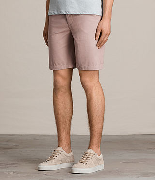 Hommes Short Colbalt Chino (Dusty Pink) - product_image_alt_text_3
