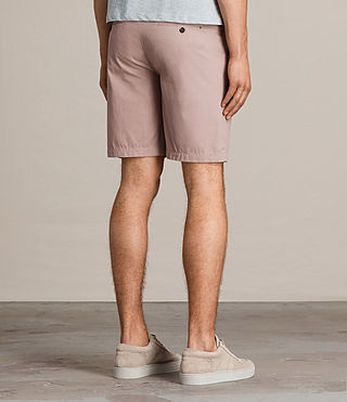 Hommes Short Colbalt Chino (Dusty Pink) - product_image_alt_text_4
