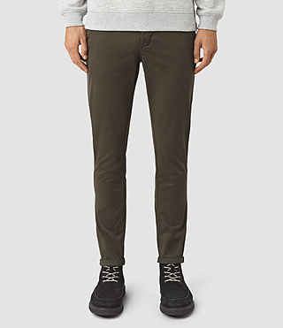 Mens Stove Lumen Chino (Pewter Brown) - product_image_alt_text_1