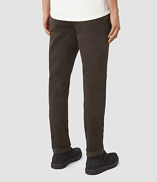Men's Stove Lumen Chino (Umber Brown) - product_image_alt_text_3