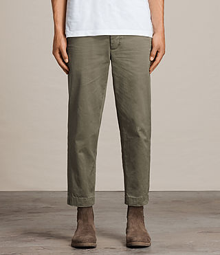 Men's Corp Chino (Khaki Green) -