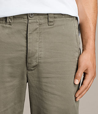 Men's Corp Chino (Khaki Green) - product_image_alt_text_2