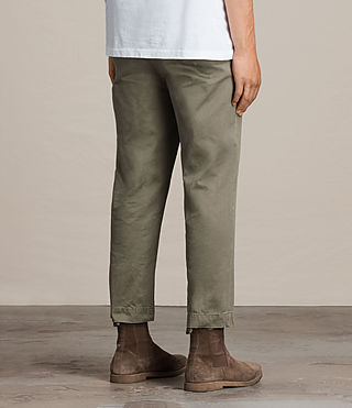 Men's Corp Chino (Khaki Green) - product_image_alt_text_4