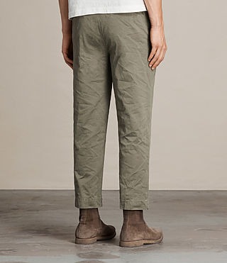 Men's Corp Chino (Khaki Green) - product_image_alt_text_5