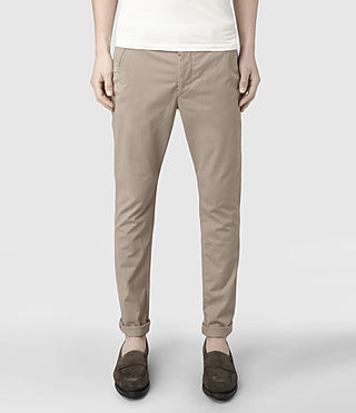 Men's Pipe Chino (Sand) -