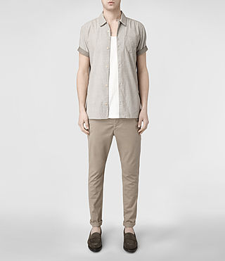 Men's Pipe Chino (Sand) - product_image_alt_text_2