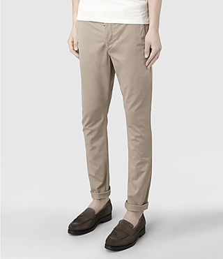 Men's Pipe Chino (Sand) - product_image_alt_text_3
