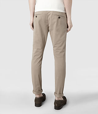 Men's Pipe Chino (Sand) - product_image_alt_text_4