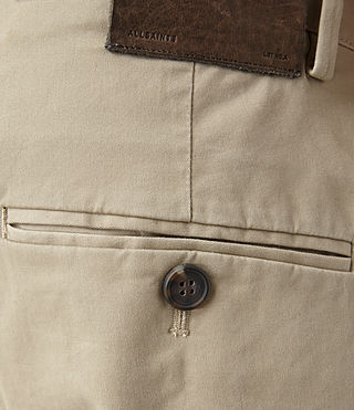 Men's Pipe Chino (Sand) - product_image_alt_text_5