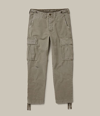 Men's Salter Cargo Trouser (Khaki Green) - product_image_alt_text_1