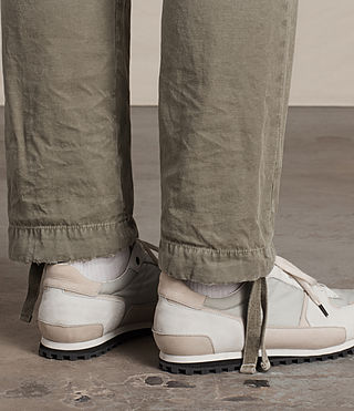 Men's Salter Cargo Trouser (Khaki Green) - product_image_alt_text_3