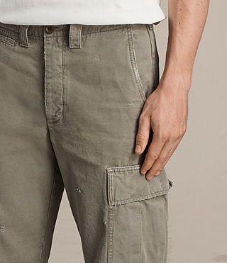Men's Salter Cargo Trouser (Khaki Green) - product_image_alt_text_5