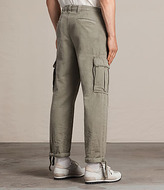 Men's Salter Cargo Trouser (Khaki Green) - product_image_alt_text_6