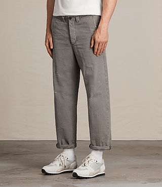 Uomo Chino Toluca (ANTHRACITE GREY) - product_image_alt_text_4