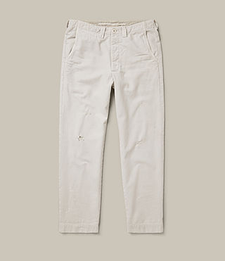 Mens Toluca Chino (IVORY GREY) - product_image_alt_text_1