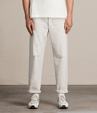 Men's Toluca Chino (IVORY GREY) - Image 2