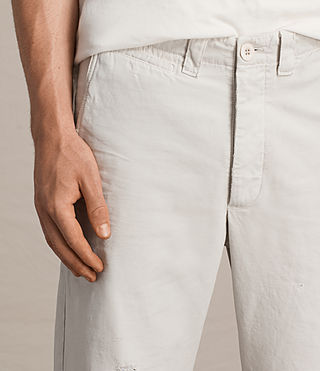 Men's Toluca Chino (IVORY GREY) - Image 3