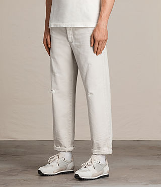 Mens Toluca Chino (IVORY GREY) - product_image_alt_text_4