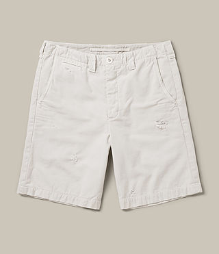 Mens Palm Short (IVORY GREY) - product_image_alt_text_1