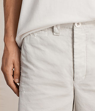 Mens Palm Short (IVORY GREY) - product_image_alt_text_3