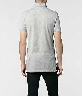 Men's Sandringham Polo (Grey Marl) - product_image_alt_text_3