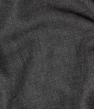 Men's Maxim Scarf (Charcoal Grey) - product_image_alt_text_2