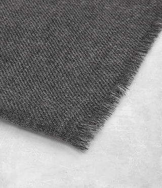 Men's Maxim Scarf (Charcoal Grey) - product_image_alt_text_3