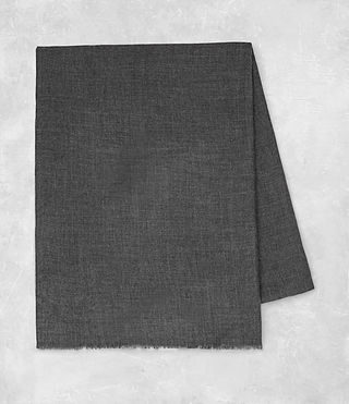 Men's Maxim Scarf (Charcoal Grey) - product_image_alt_text_4