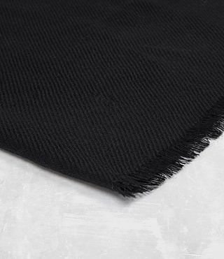 Hommes Maxim Scarf (Black) - product_image_alt_text_3