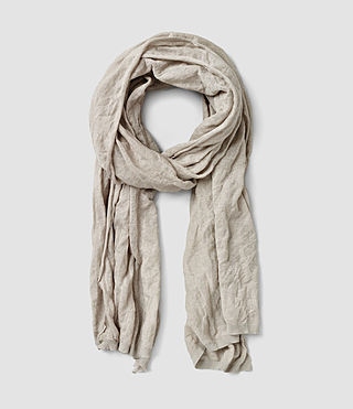 Mens Metor Scarf (Cement)