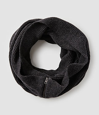 Mens Fluxx Scarf (Charcoal Marl)