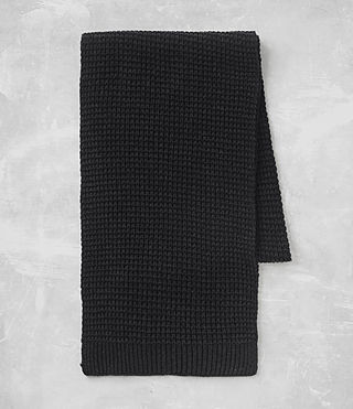 Men's Tornn Scarf (Cinder Black Marl) - product_image_alt_text_4