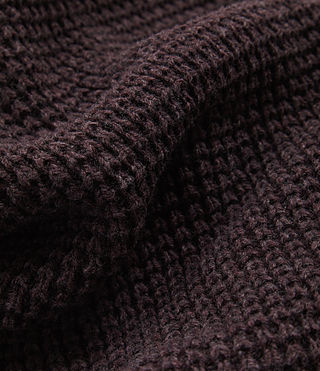 Mens Tornn Scarf (DAMSON RED MARL) - product_image_alt_text_2