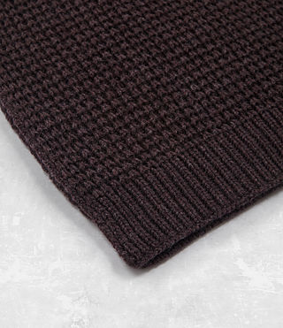 Mens Tornn Scarf (DAMSON RED MARL) - product_image_alt_text_3