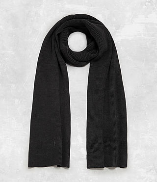 Men's Trias Scarf (Cinder Black Marl) - Image 1
