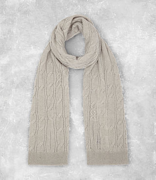 Men's Kendrikk Scarf (Smoke Grey Marl) -