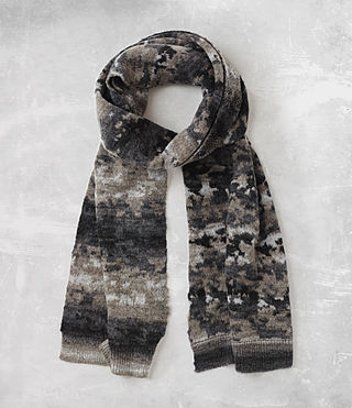 Hommes Landry Scarf (Taupe Marl)