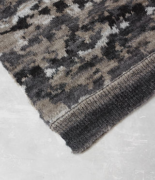 Hombre Landry Scarf (Taupe Marl) - product_image_alt_text_3