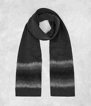 Mens Myst Scarf (Charcoal Marl) - product_image_alt_text_1