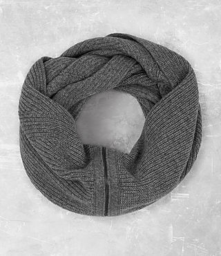 Men's Mavven Scarf (Grey Marl)
