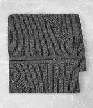Hommes Mavven Scarf (Grey Marl) - product_image_alt_text_4